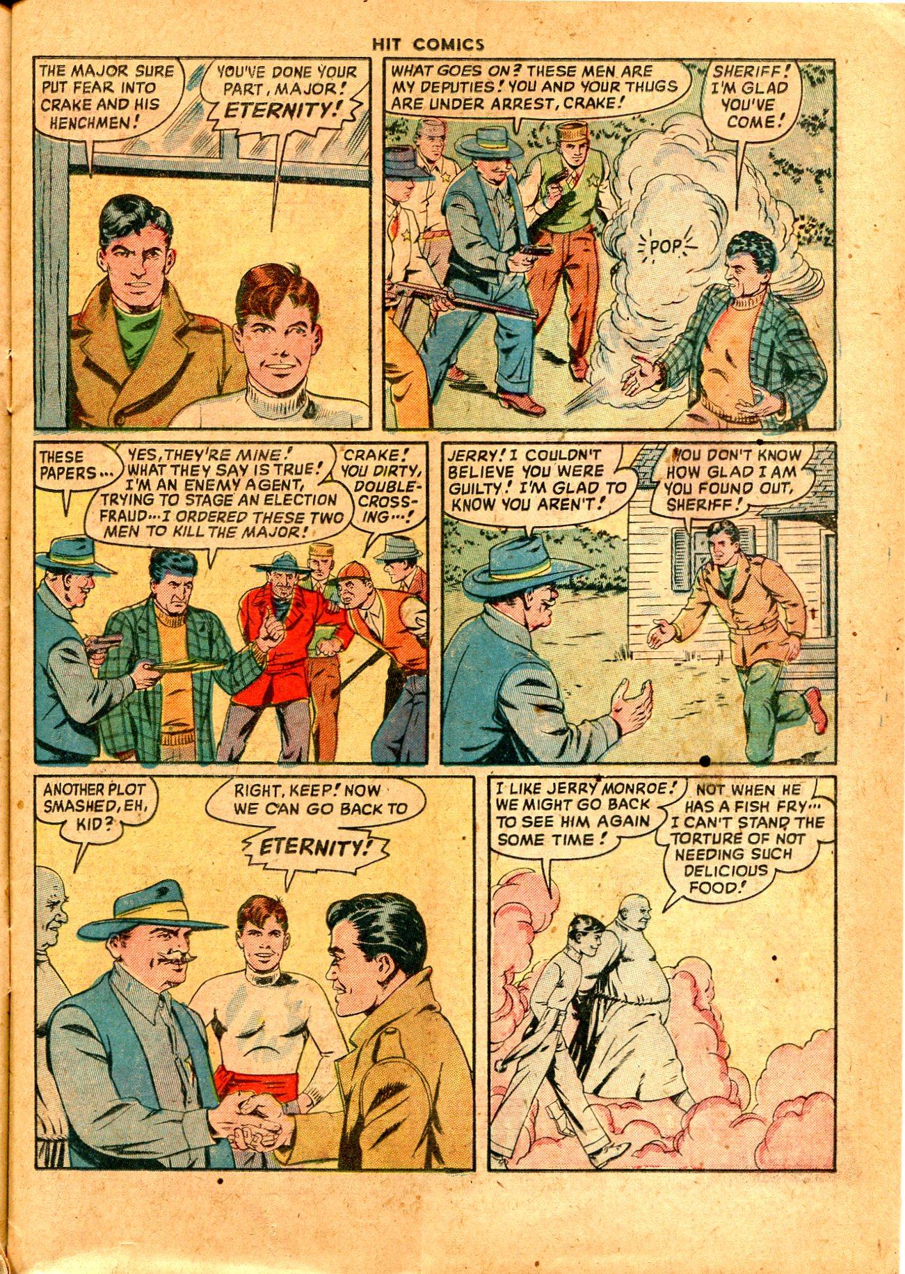 Read online Hit Comics comic -  Issue #57 - 15