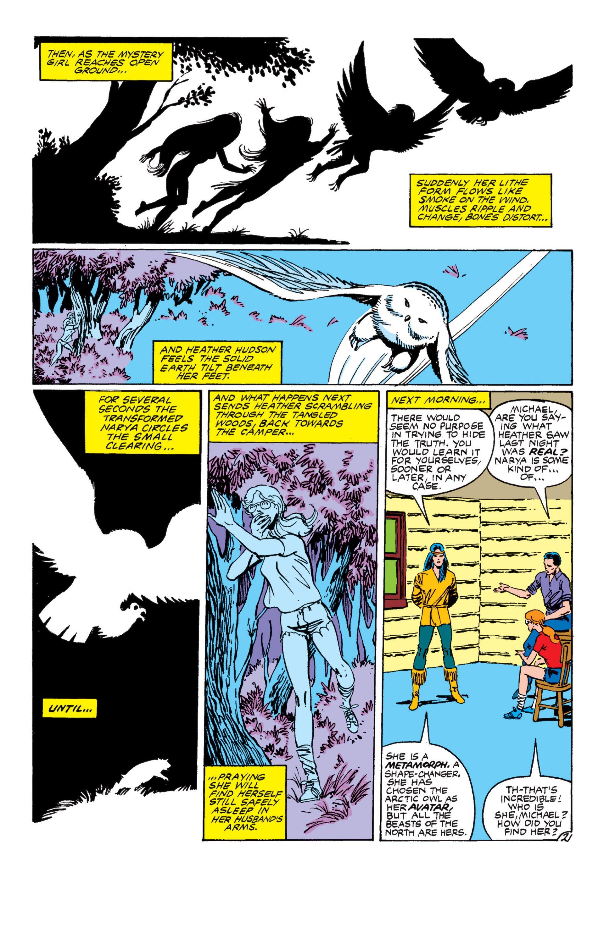 Read online Alpha Flight (1983) comic -  Issue #8 - 22