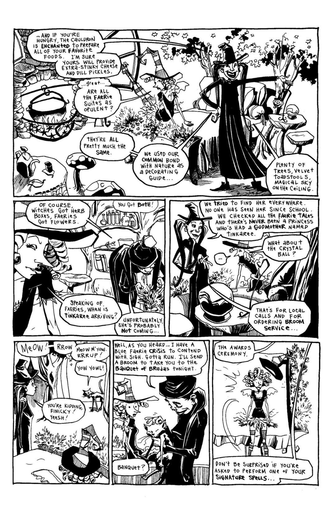 Read online Scary Godmother Comic Book Stories comic -  Issue # TPB - 185