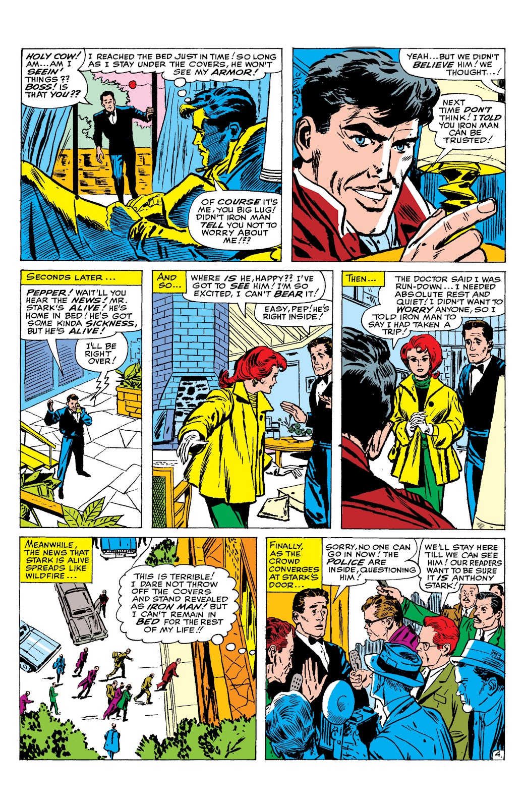 Read online Marvel Masterworks: The Invincible Iron Man comic -  Issue # TPB 2 (Part 2) - 75