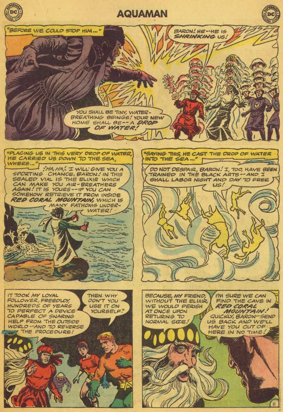 Read online Aquaman (1962) comic -  Issue #5 - 15