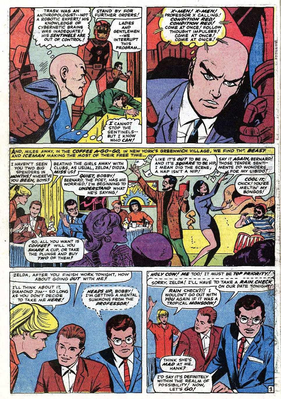 Uncanny X-Men (1963) 68 Page 11
