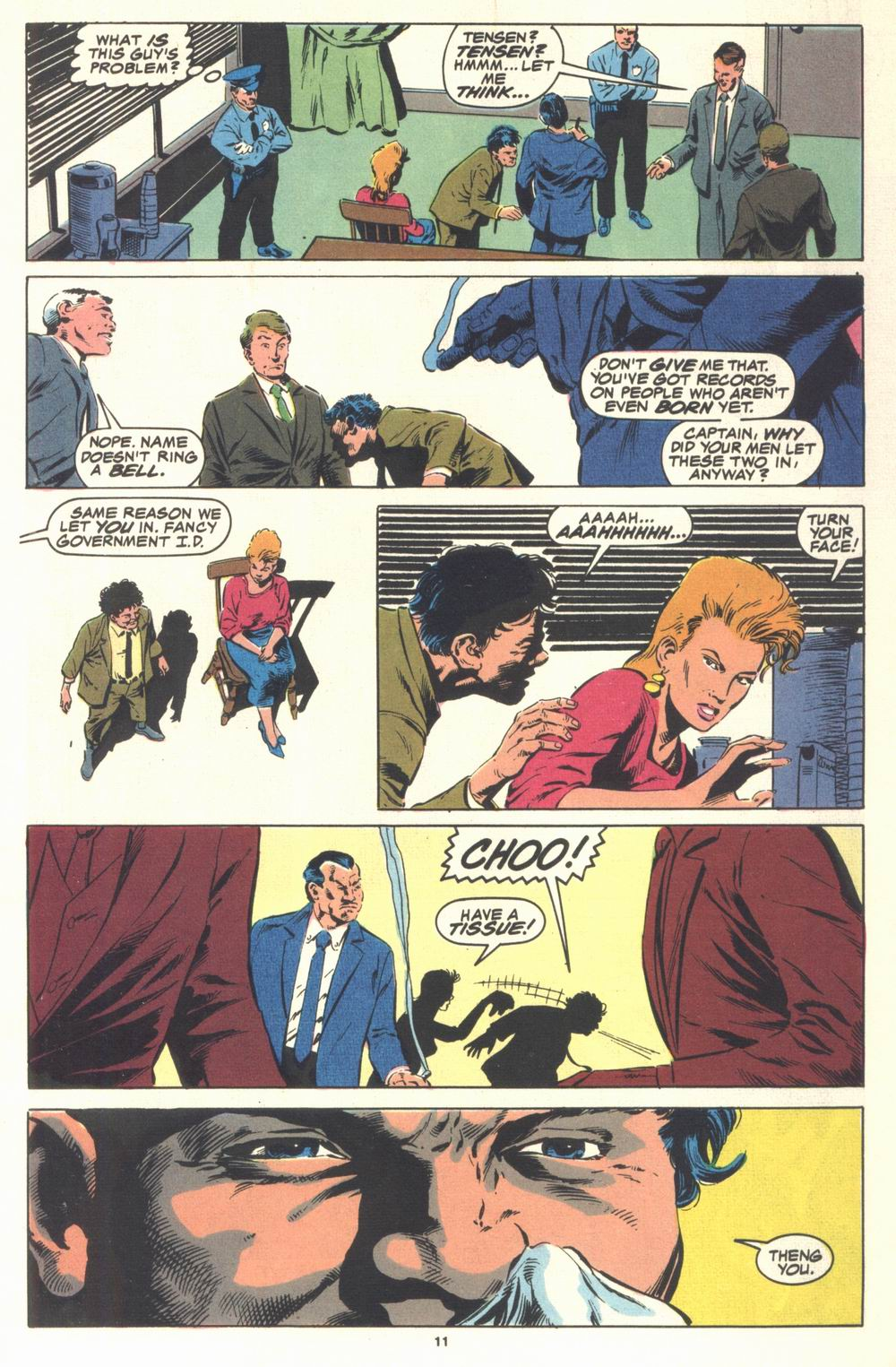 Read online Justice (1986) comic -  Issue #21 - 13