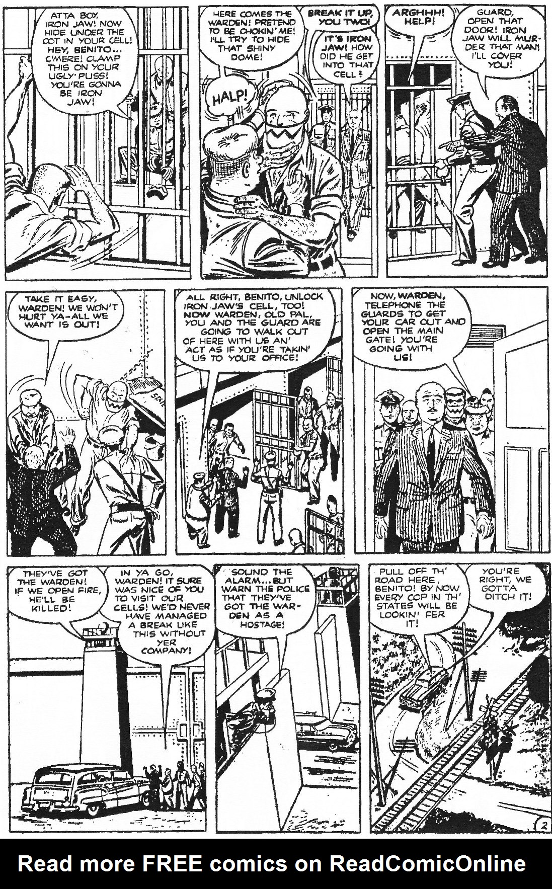 Read online Men of Mystery Comics comic -  Issue #70 - 36