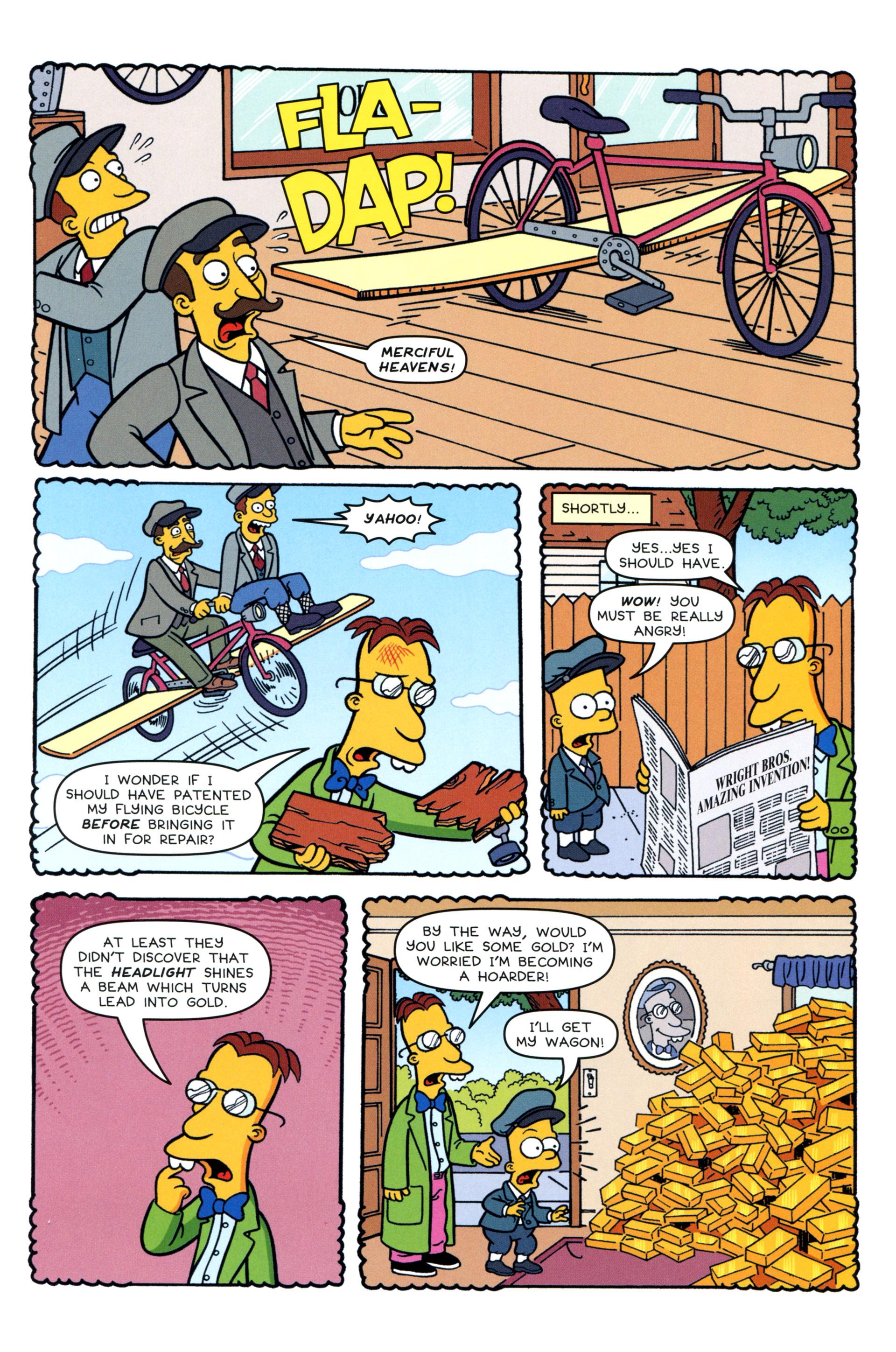 Read online Simpsons Comics comic -  Issue #200 - 21
