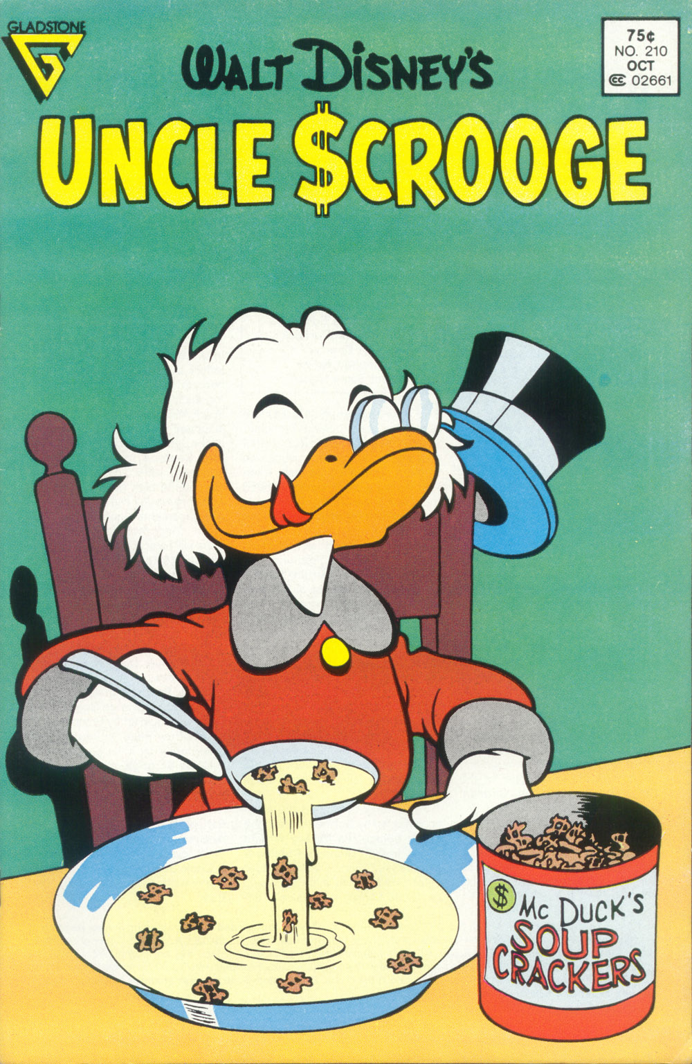 Read online Uncle Scrooge (1953) comic -  Issue #210 - 1