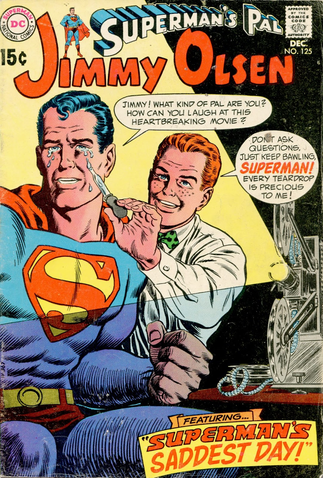 Supermans Pal Jimmy Olsen (1954) 125 Page 1