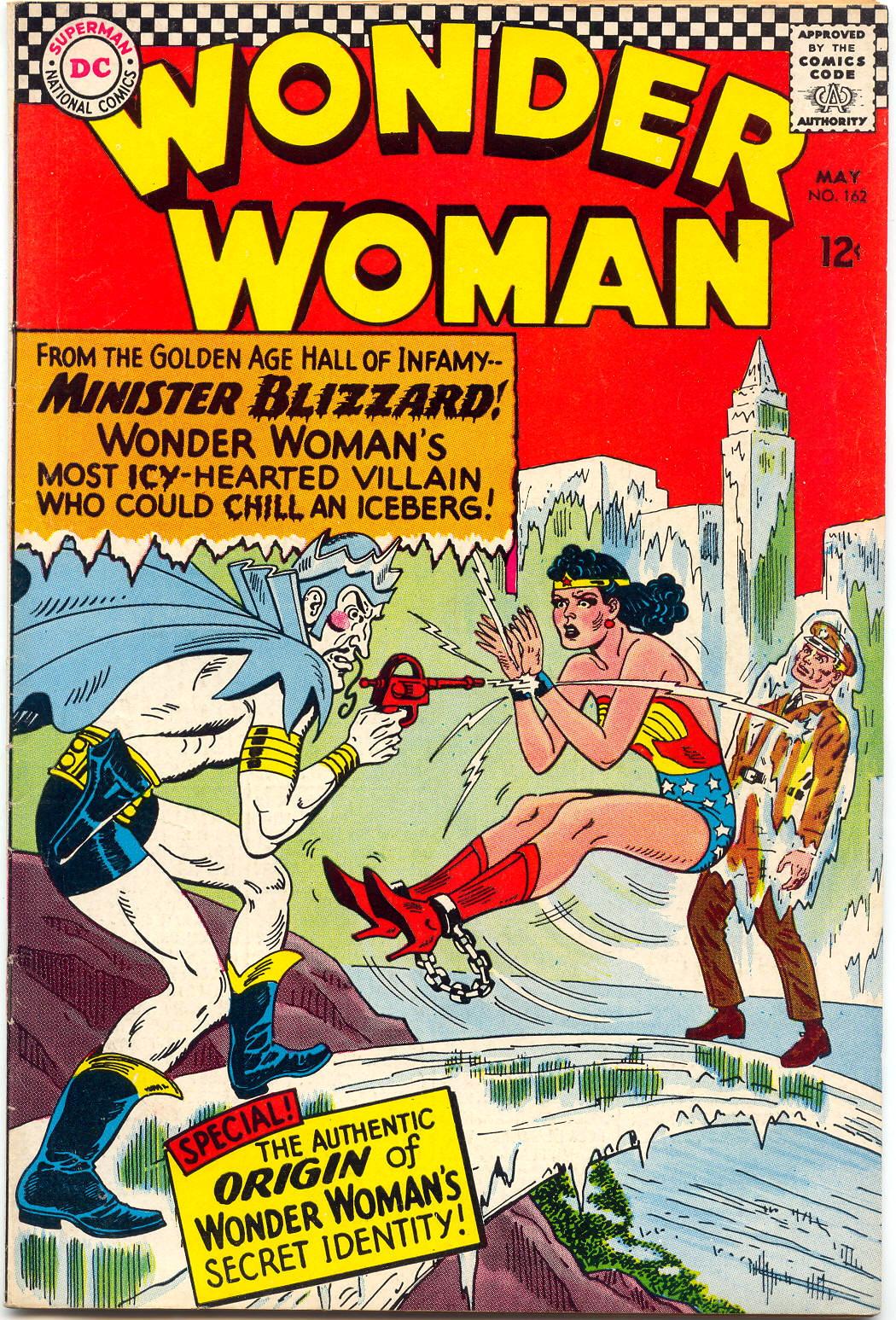 Read online Wonder Woman (1942) comic -  Issue #162 - 1