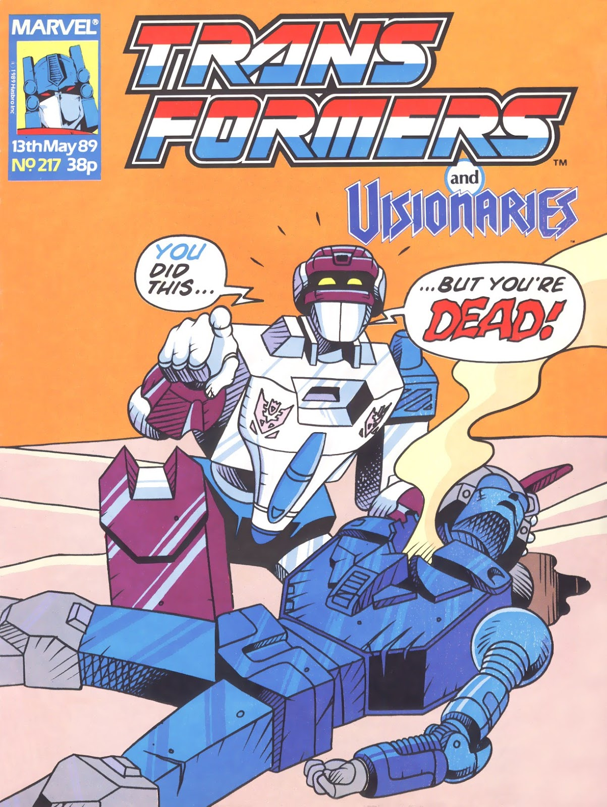 The Transformers (UK) 217 Page 1
