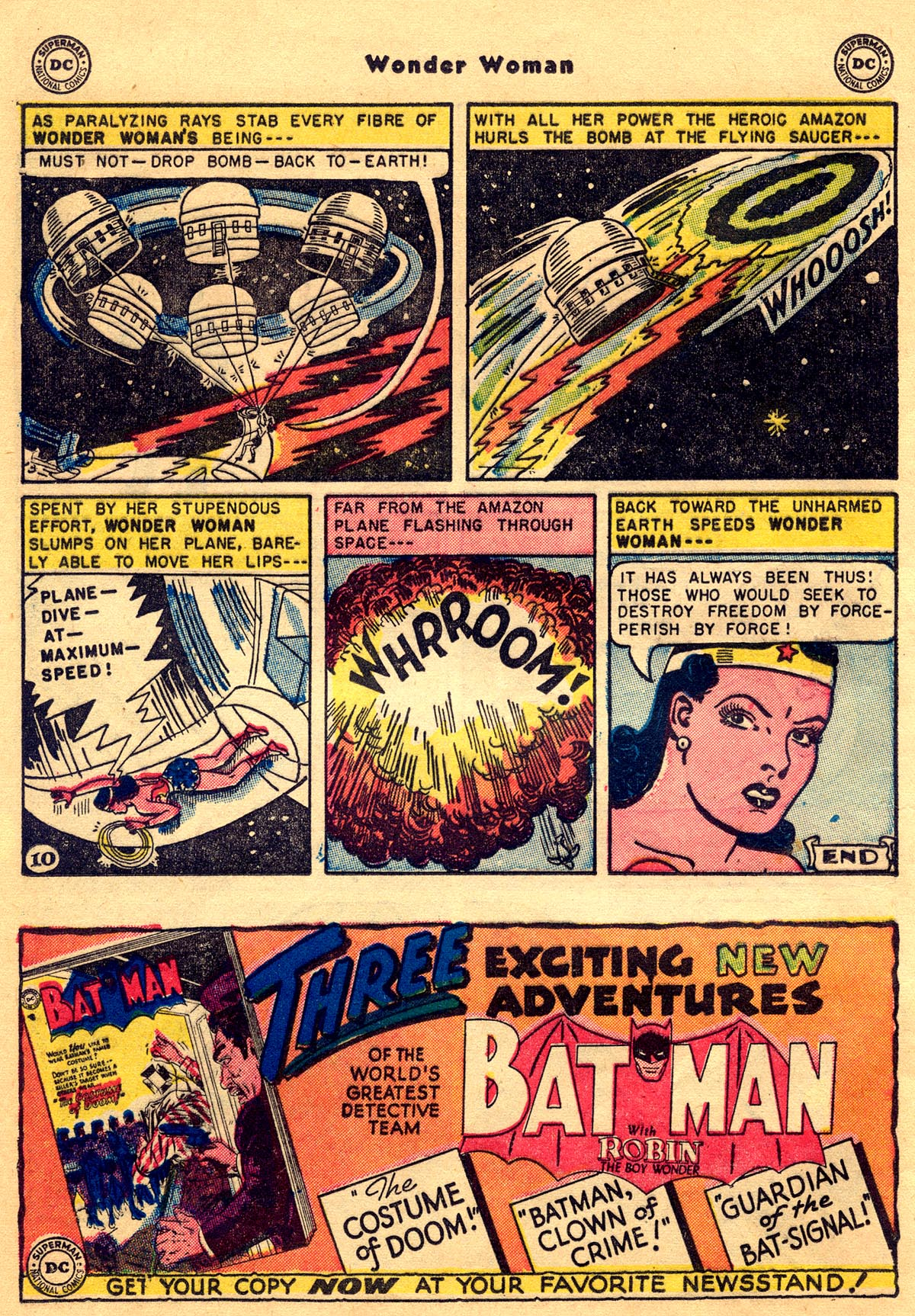 Read online Wonder Woman (1942) comic -  Issue #68 - 12