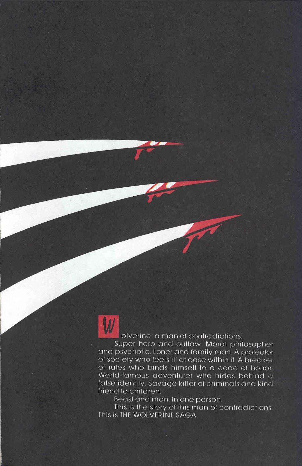 Wolverine Saga (1989) 3 Page 3
