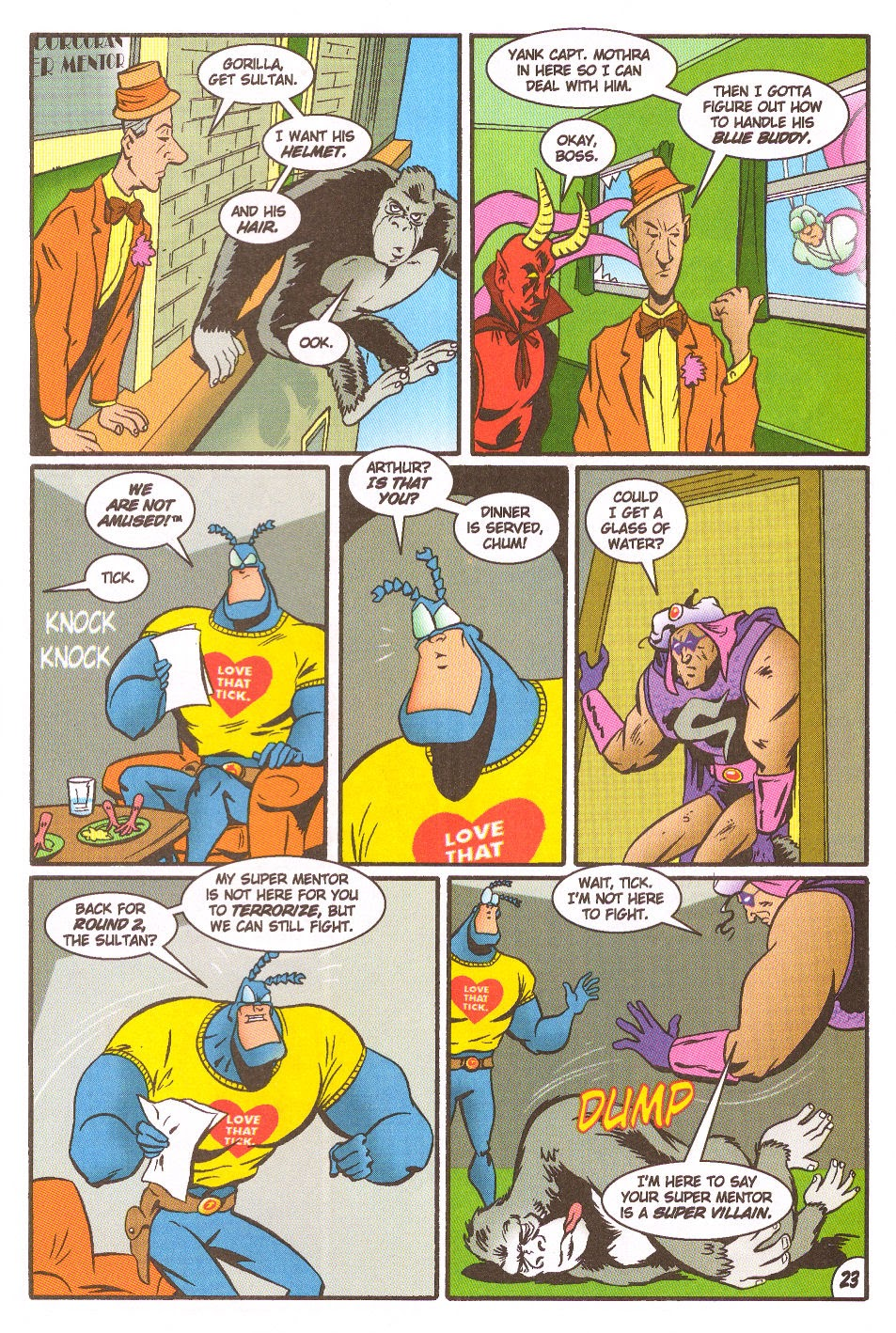 Read online The Tick: Days of Drama comic -  Issue #5 - 25