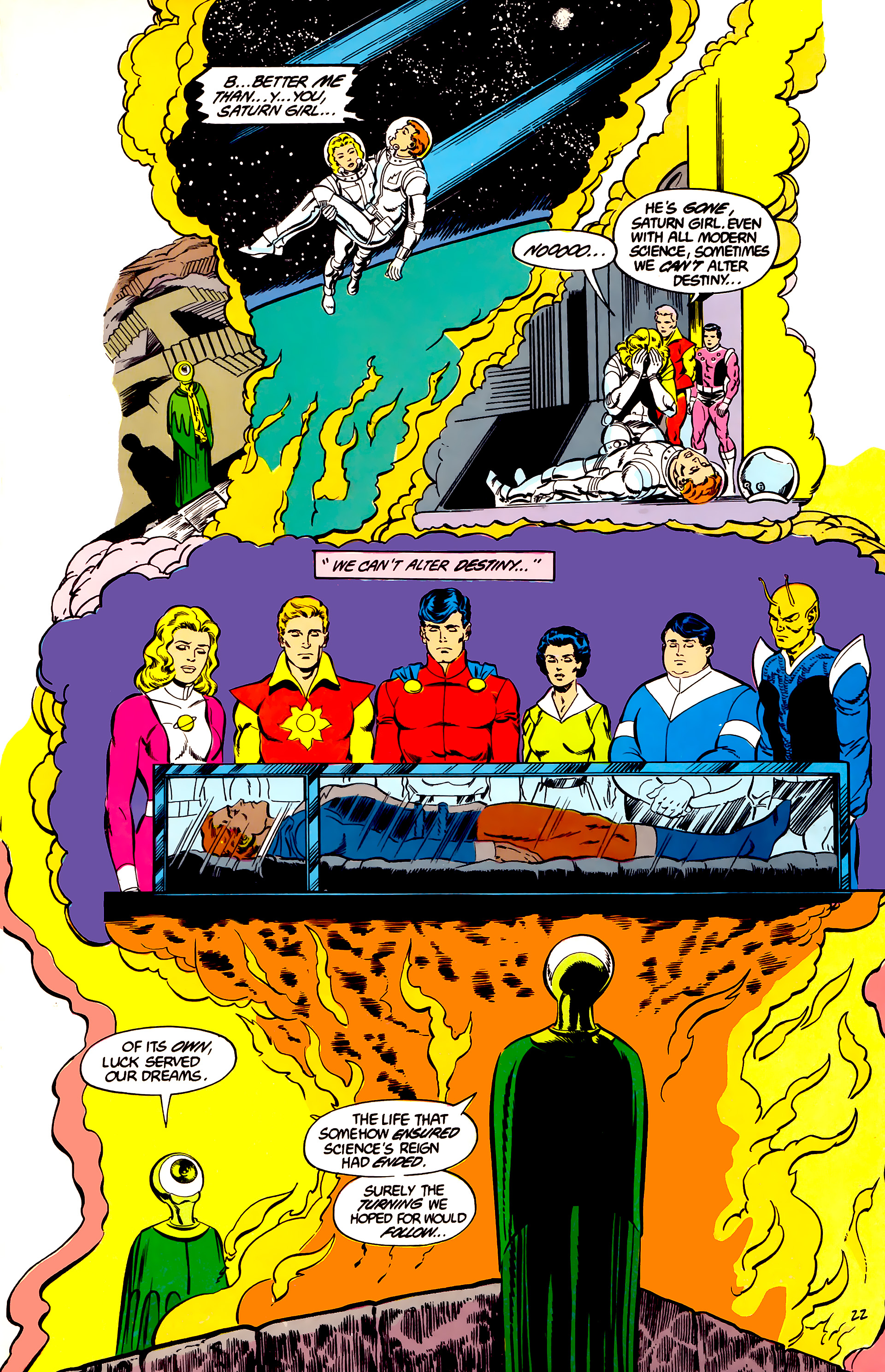 Legion of Super-Heroes (1984) 45 Page 22
