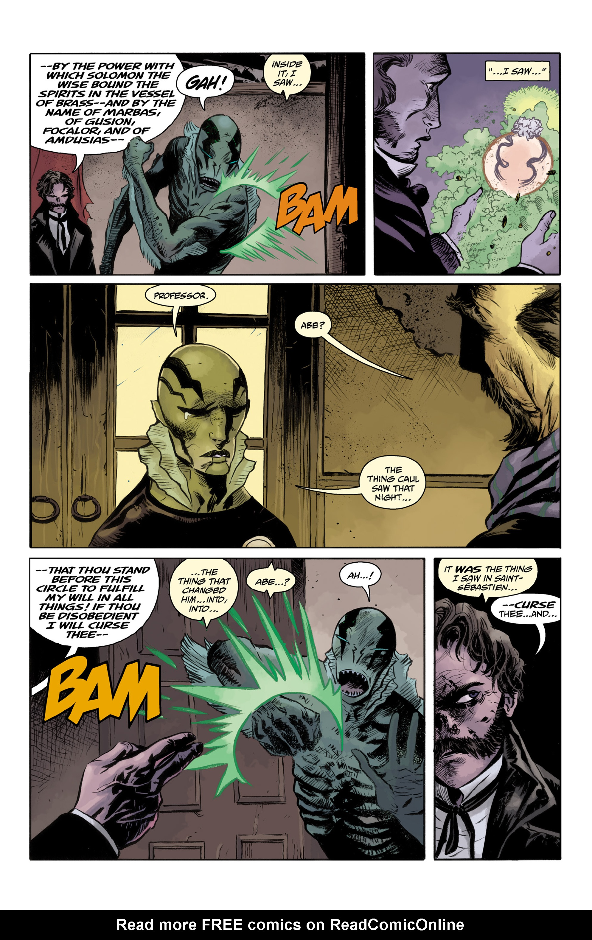 Read online Abe Sapien comic -  Issue #33 - 20