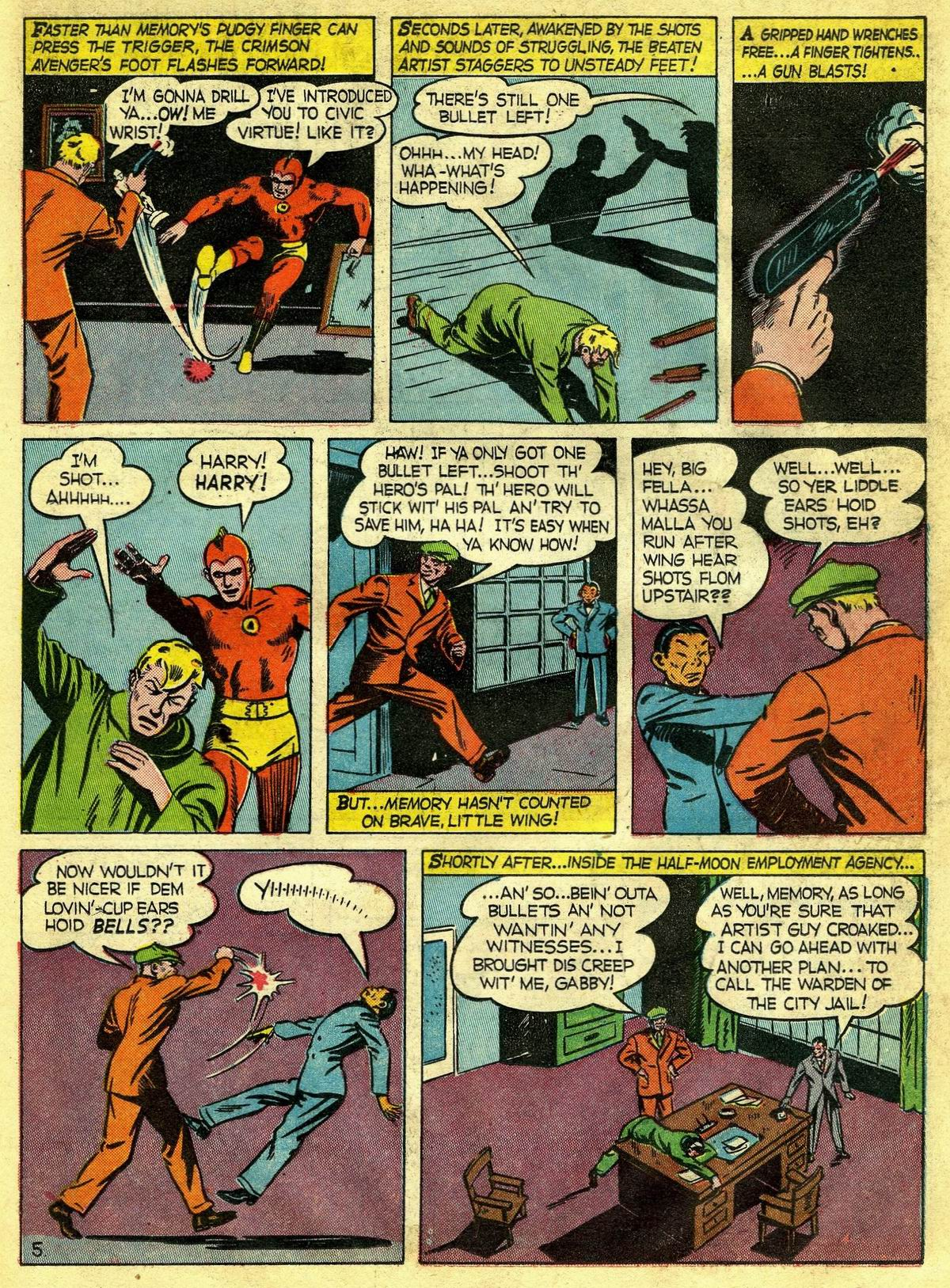 Read online Detective Comics (1937) comic -  Issue #67 - 35