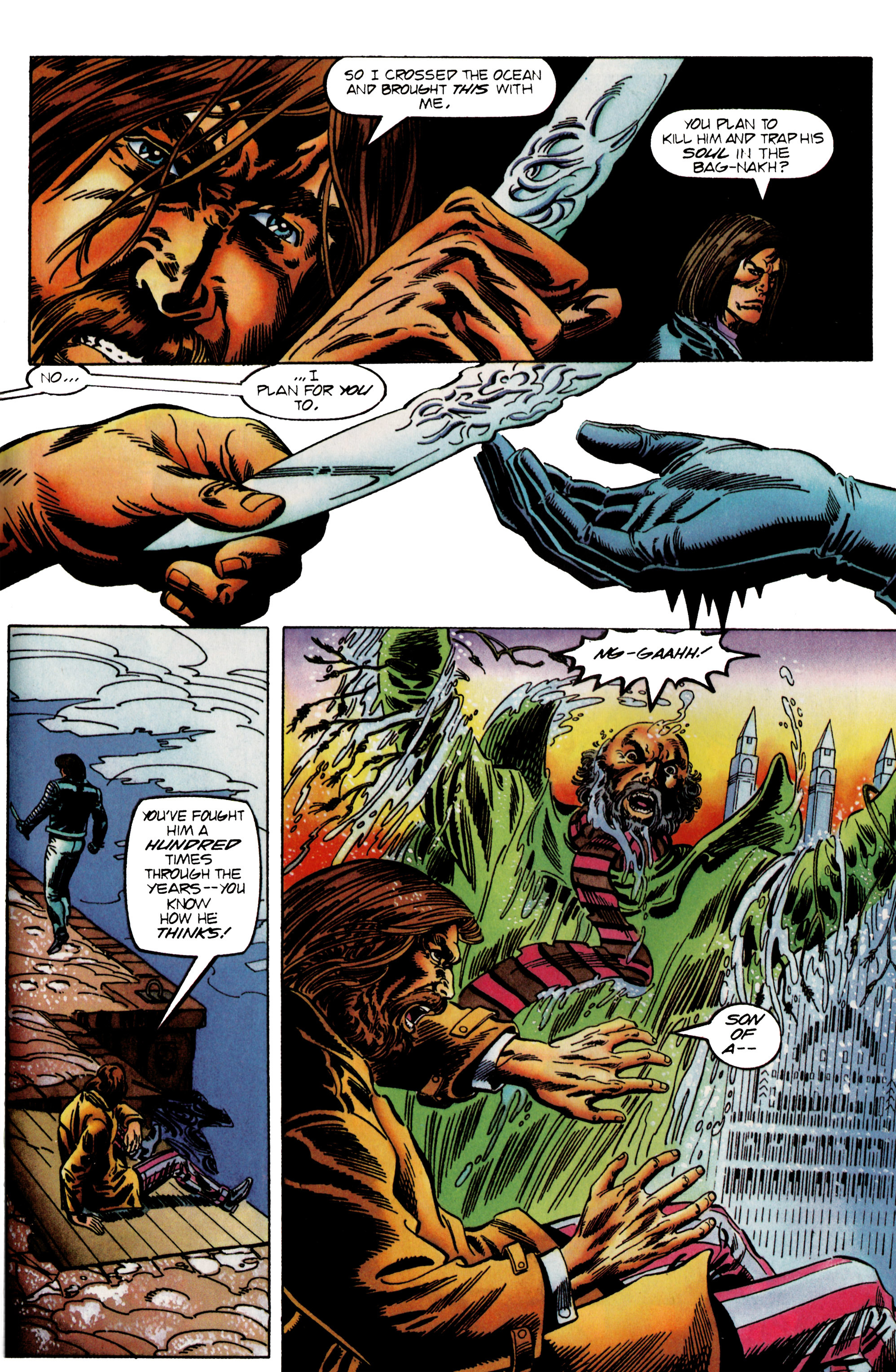 Read online Eternal Warrior (1992) comic -  Issue #24 - 18