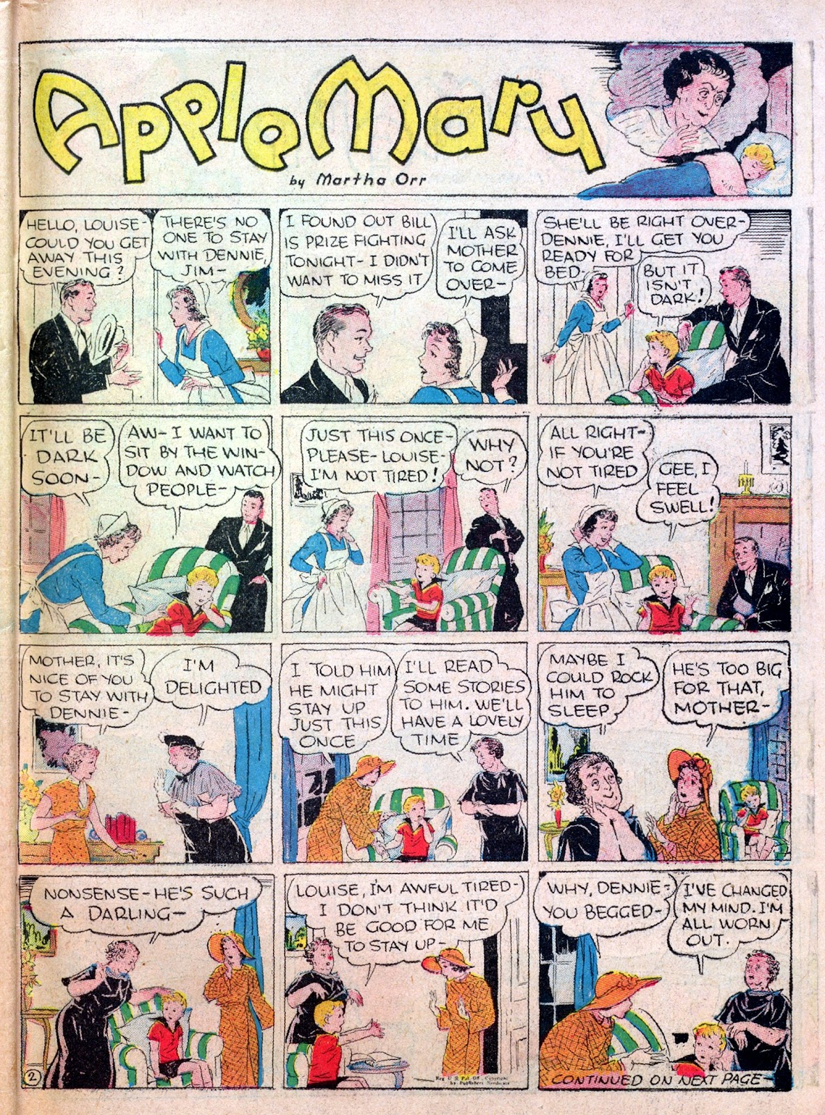 Read online Famous Funnies comic -  Issue #25 - 61