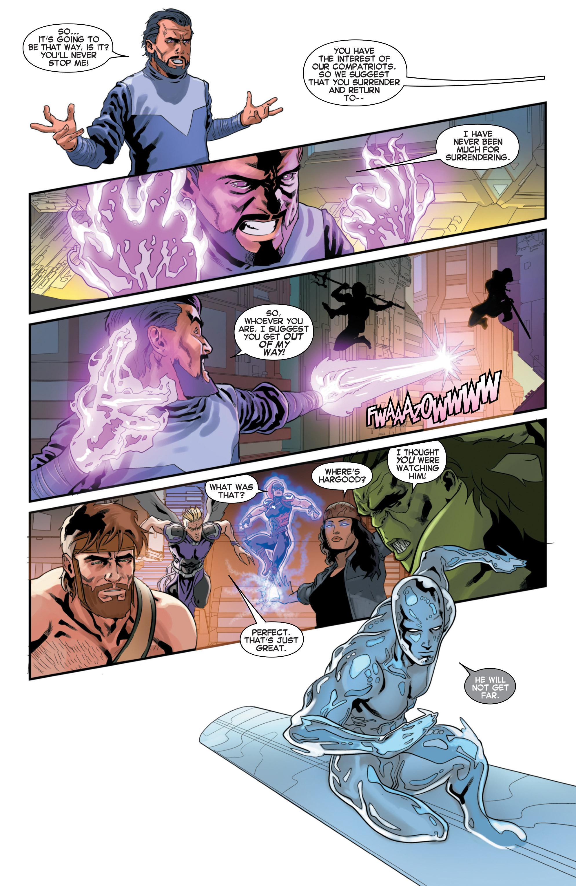 Read online Secret Wars 2099 comic -  Issue #3 - 4