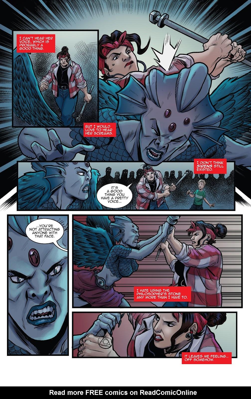Read online Black Betty comic -  Issue #8 - 10