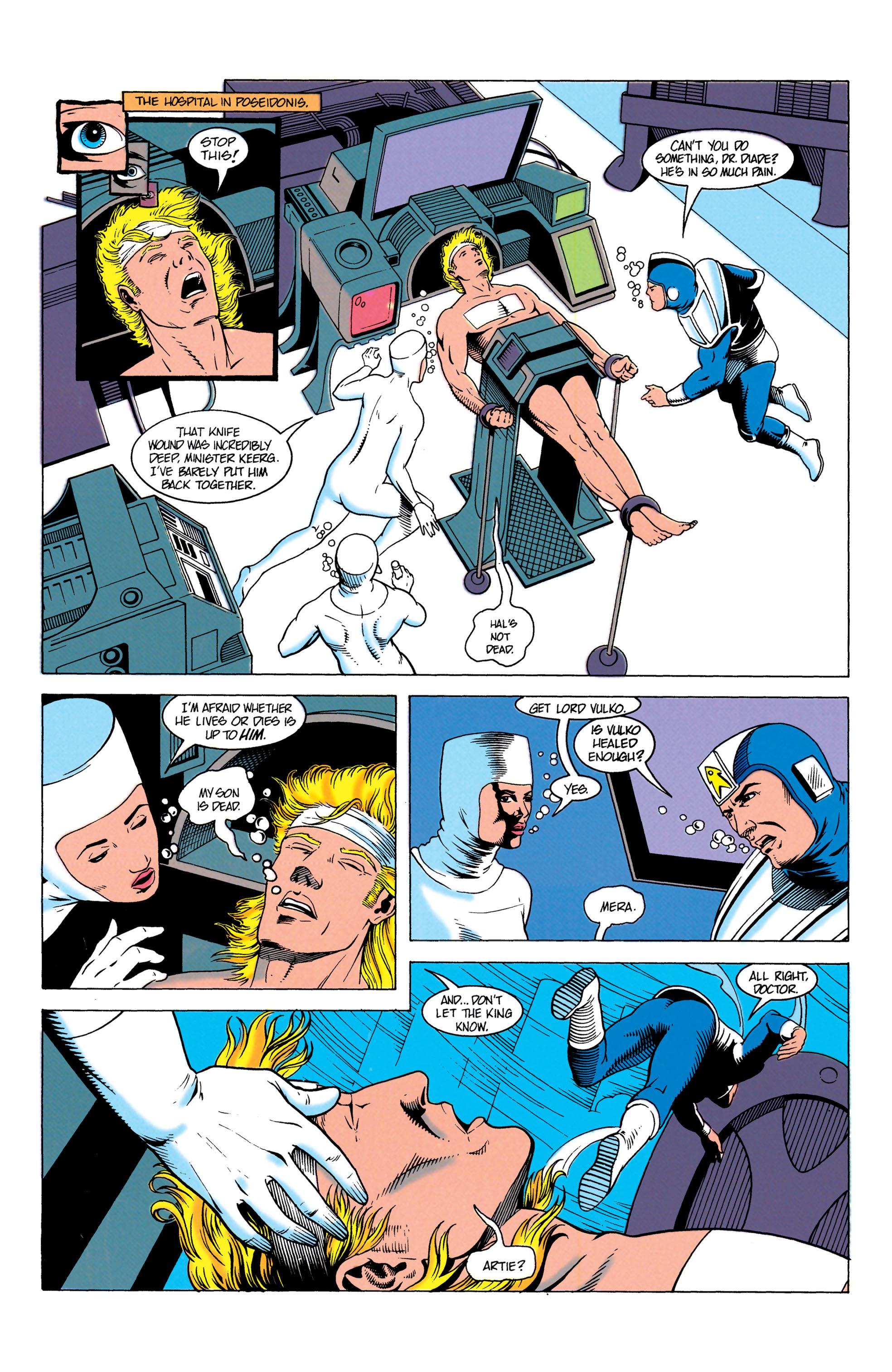 Read online Aquaman (1991) comic -  Issue #7 - 7