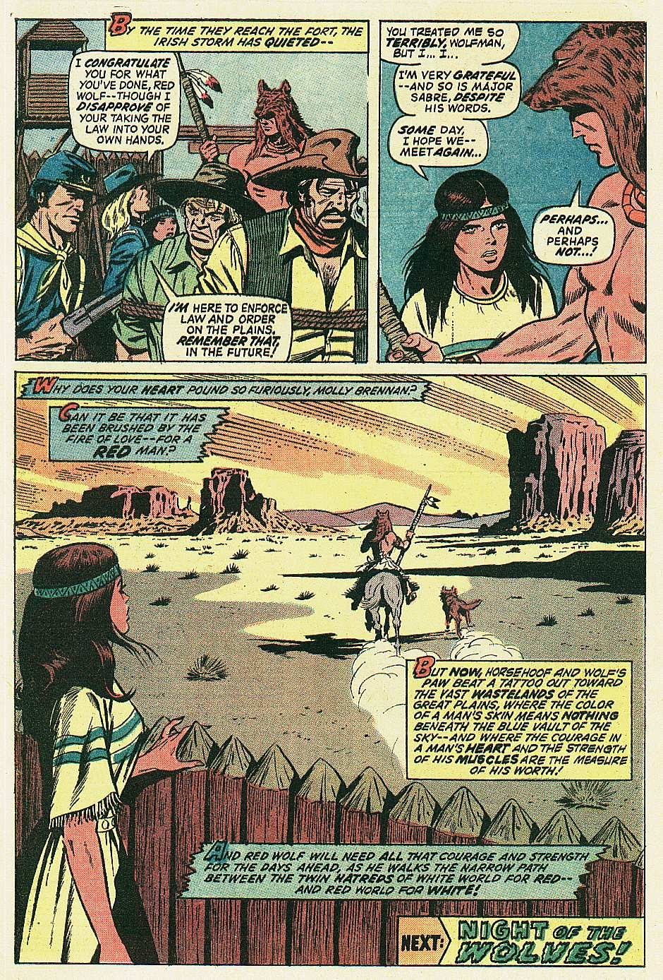 Red Wolf (1972) issue 2 - Page 21