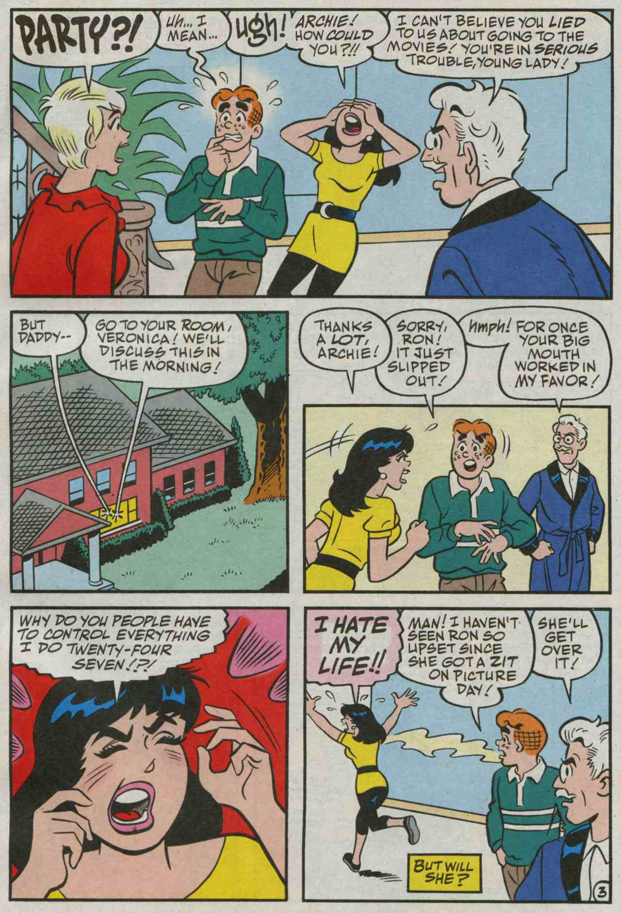 Read online Archie's Girls Betty and Veronica comic -  Issue #235 - 4