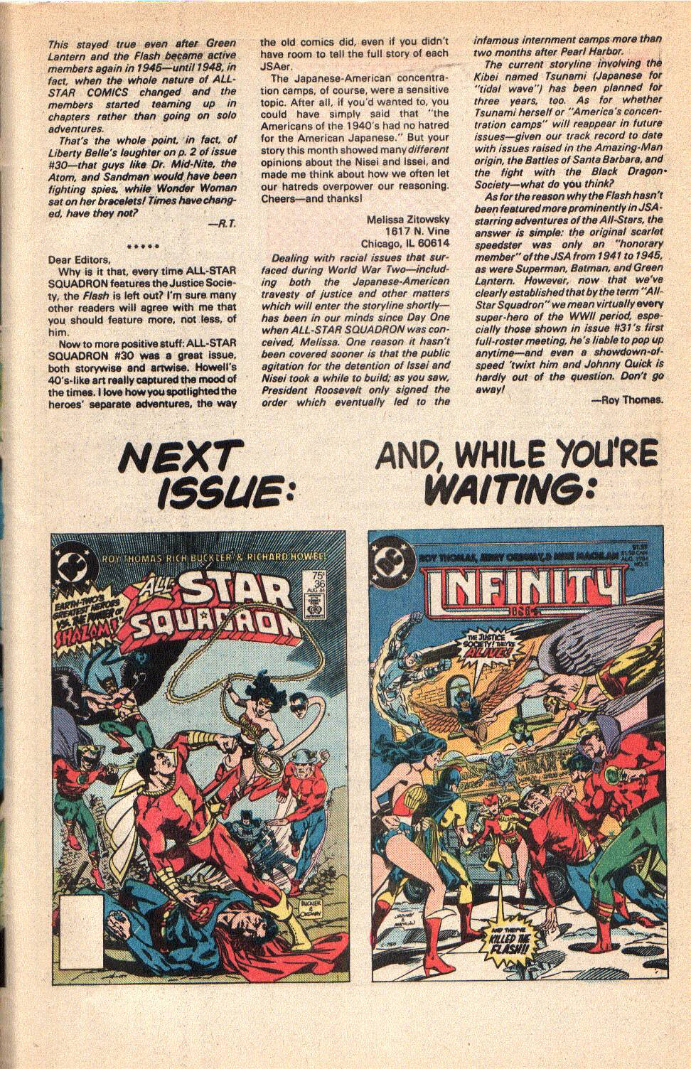 Read online All-Star Squadron comic -  Issue #35 - 33