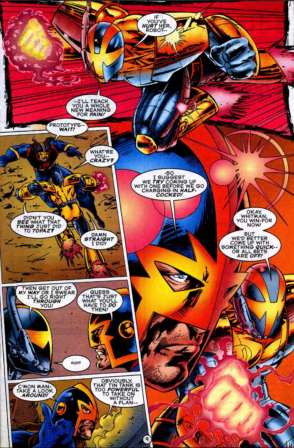 Read online UltraForce (1995) comic -  Issue #12 - 11