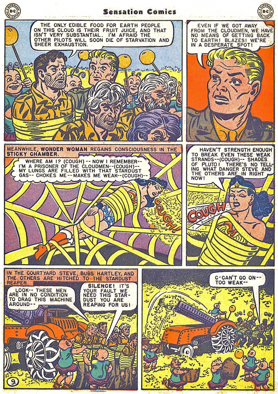 Read online Sensation (Mystery) Comics comic -  Issue #64 - 11