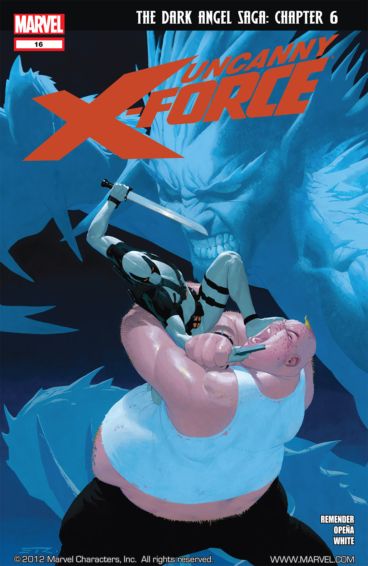 Read online Uncanny X-Force (2010) comic -  Issue #16 - 1