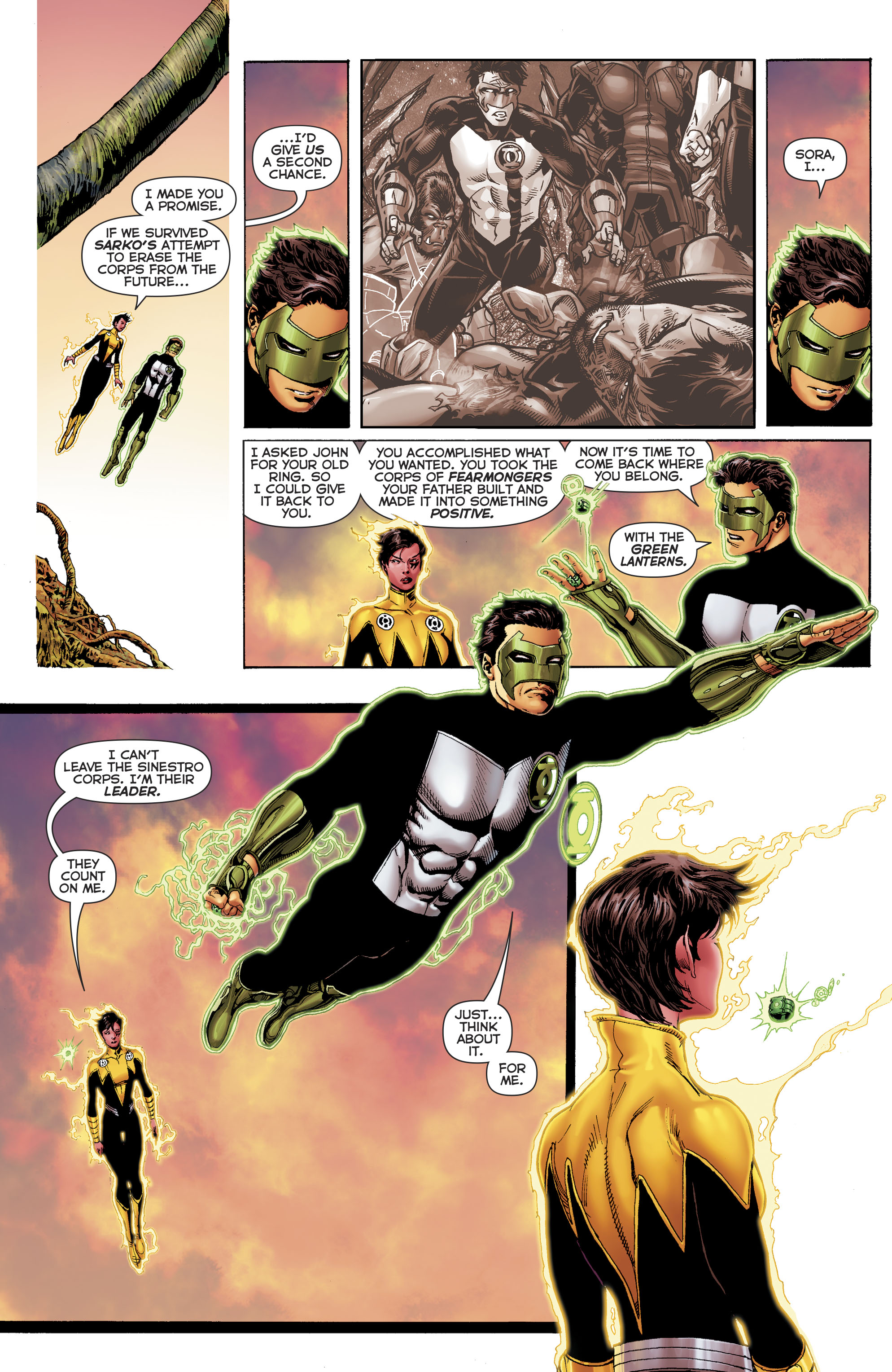 Read online Hal Jordan And The Green Lantern Corps comic -  Issue #22 - 20