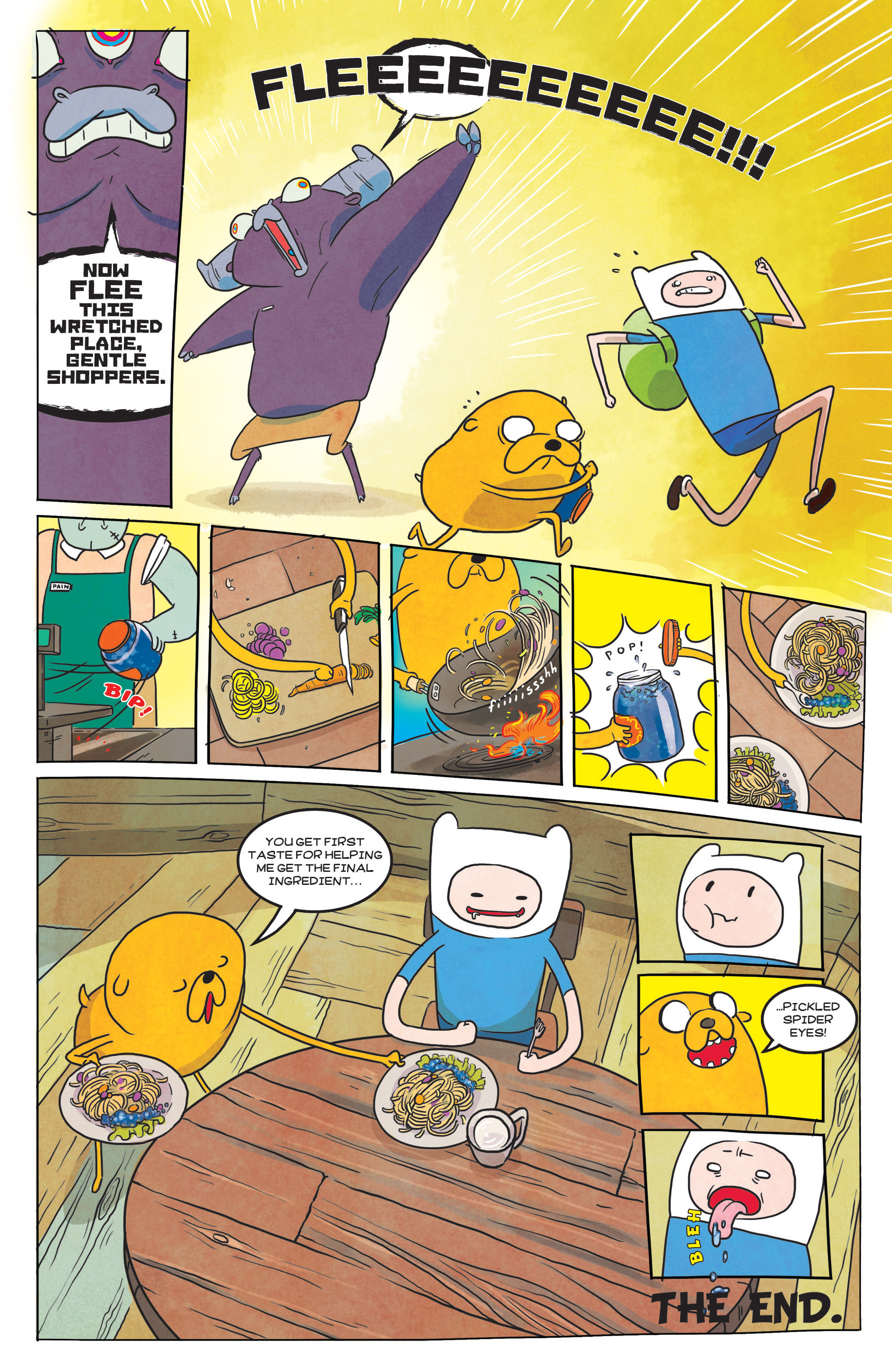 Read online Adventure Time comic -  Issue #39 - 24