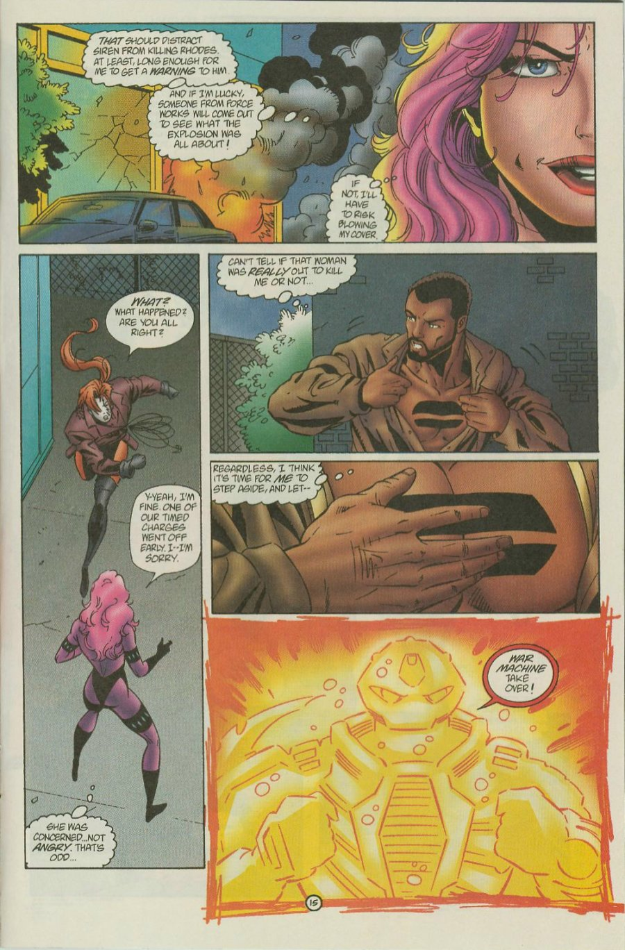 Read online Siren comic -  Issue #1 - 17