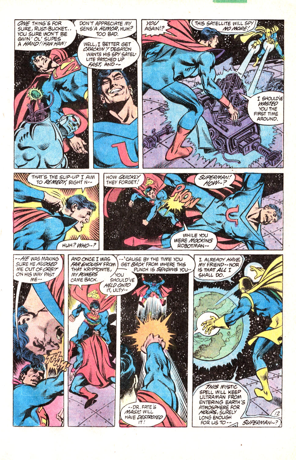 Read online All-Star Squadron comic -  Issue #15 - 16