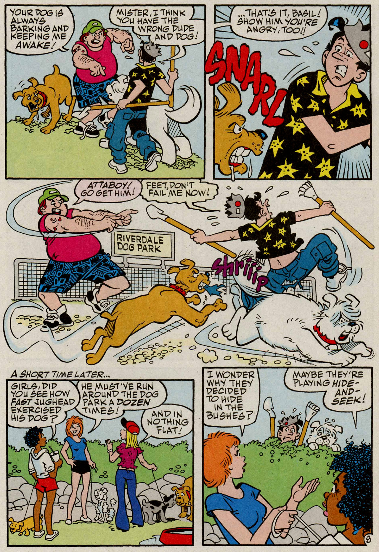 Read online Archie (1960) comic -  Issue #585 - 9