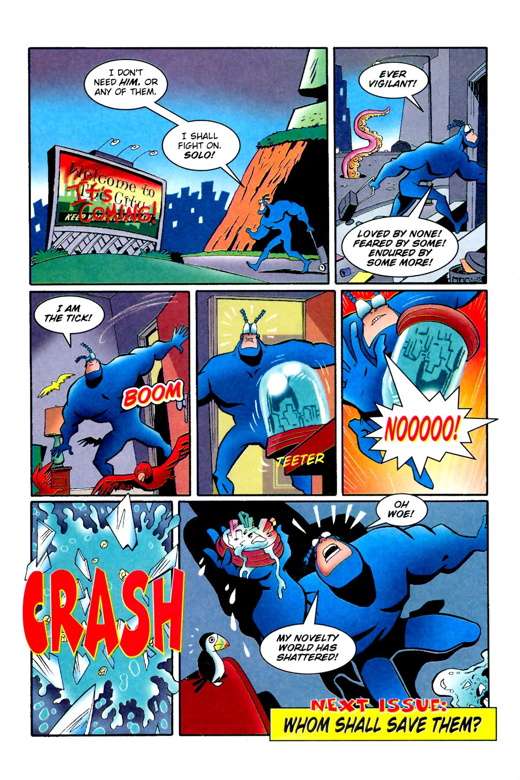 Read online The Tick: Days of Drama comic -  Issue #1 - 28