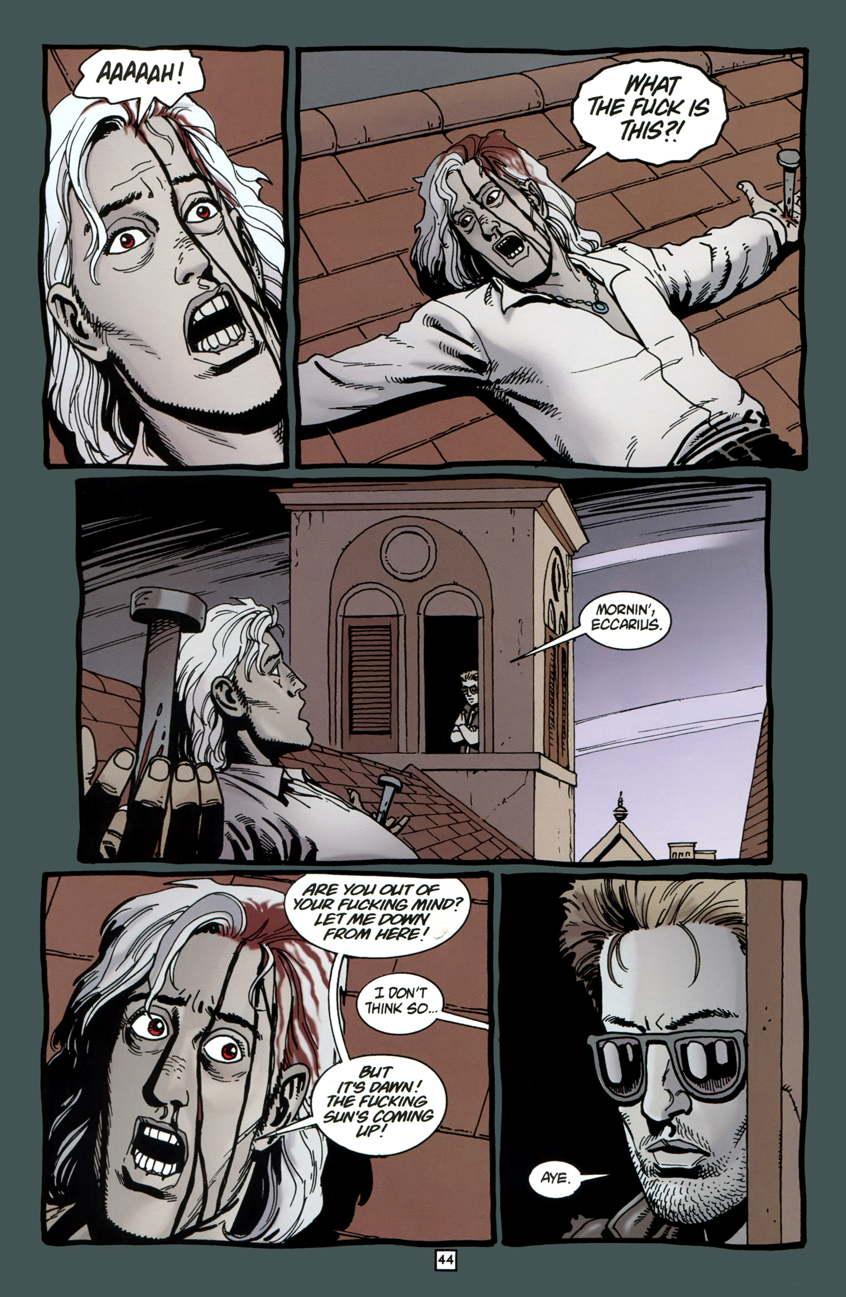 Read online Preacher Special: Cassidy : Blood and Whiskey comic -  Issue # Full - 46