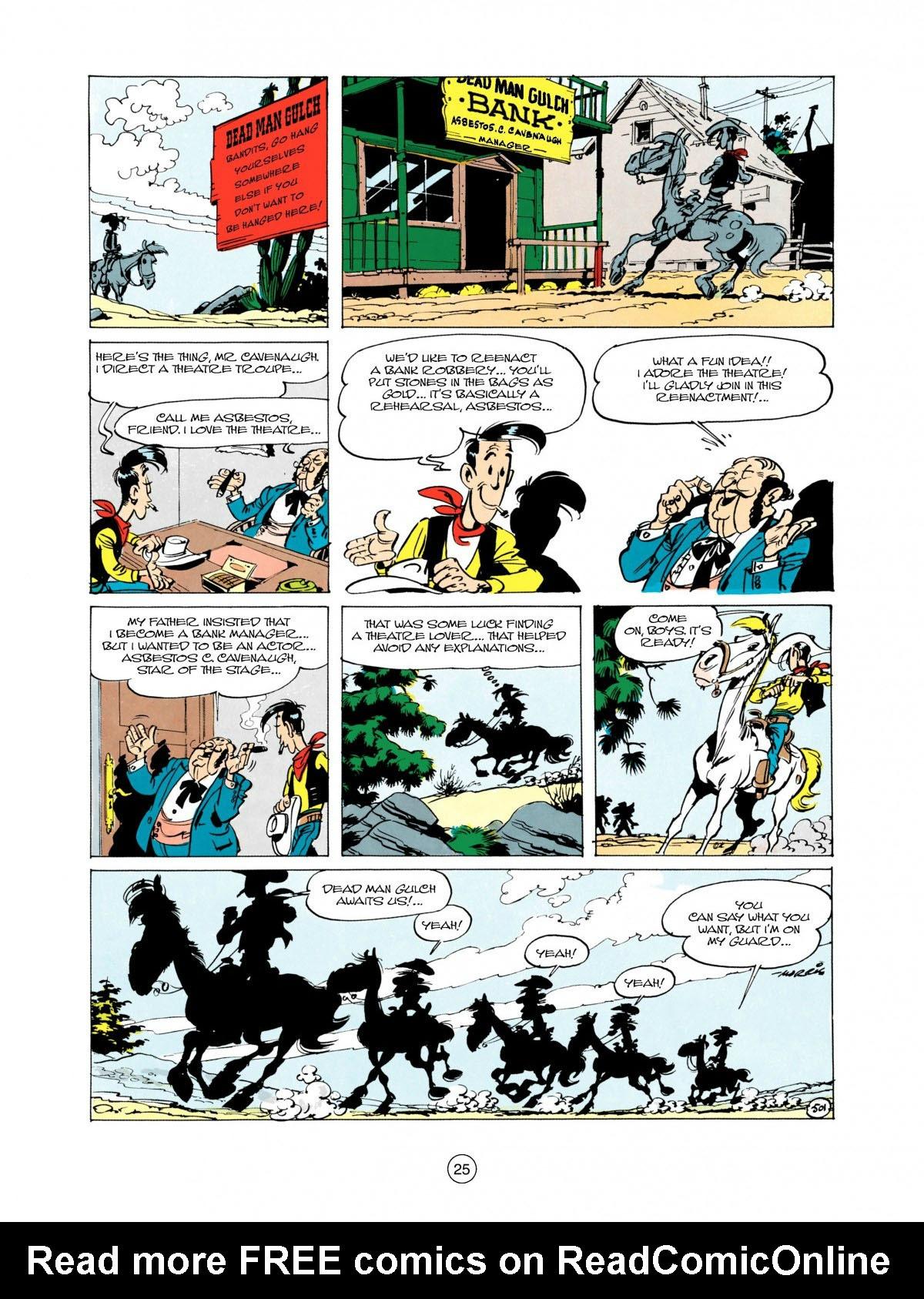 Read online A Lucky Luke Adventure comic -  Issue #28 - 26