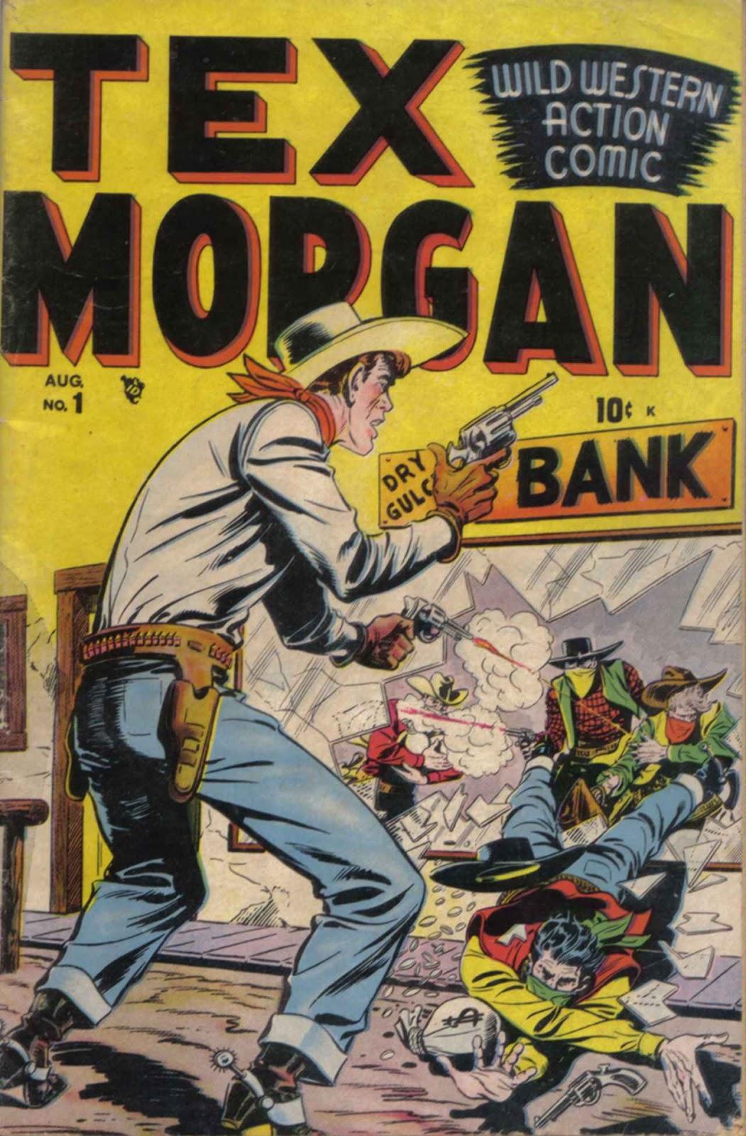 Tex Morgan issue 1 - Page 1