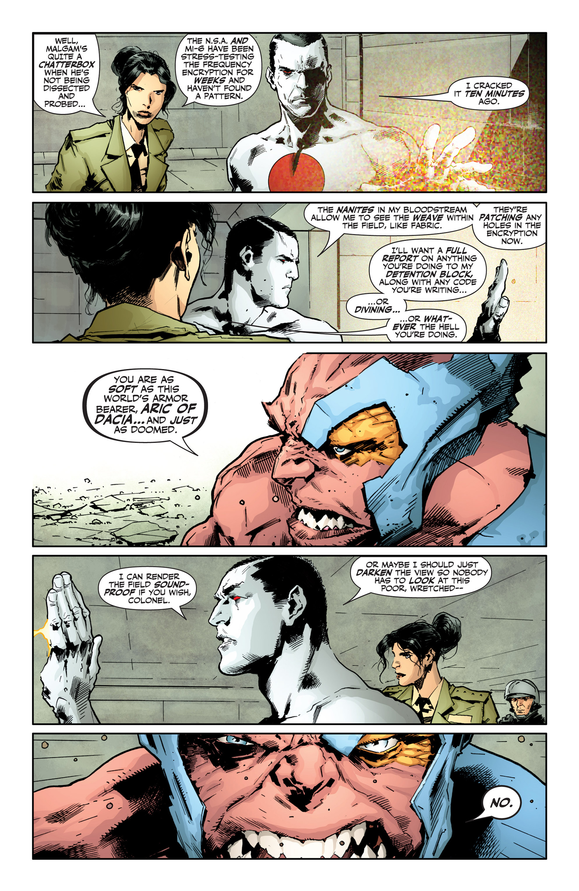 Read online Armor Hunters: Bloodshot comic -  Issue #1 - 11