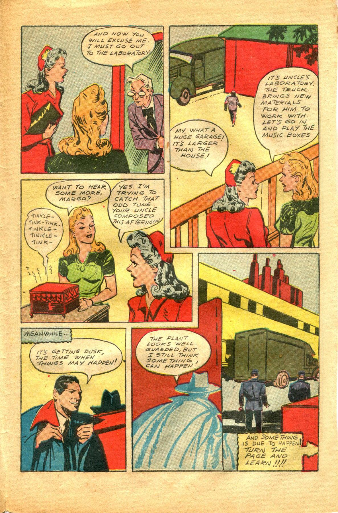 Read online Shadow Comics comic -  Issue #48 - 39