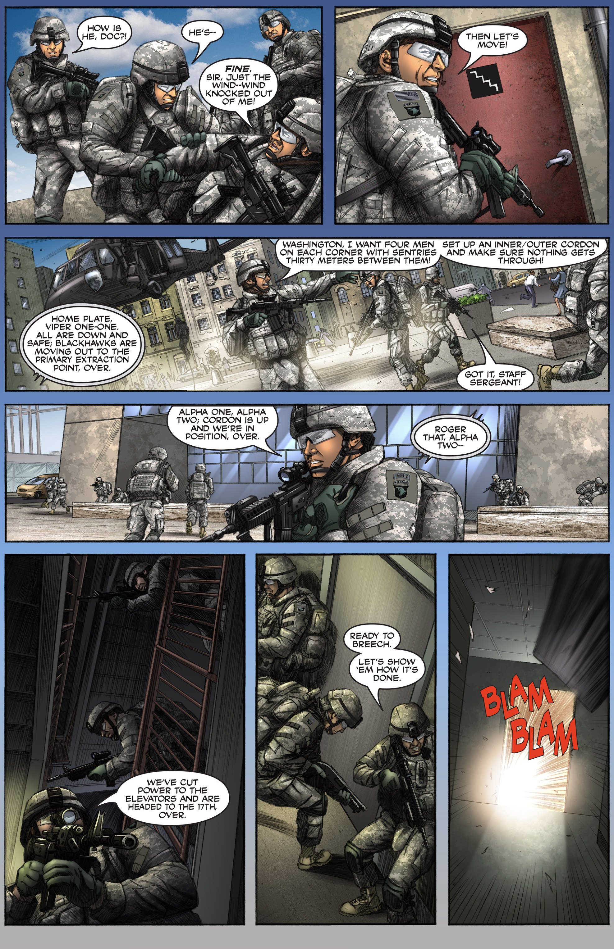 Read online America's Army comic -  Issue #0 - 12