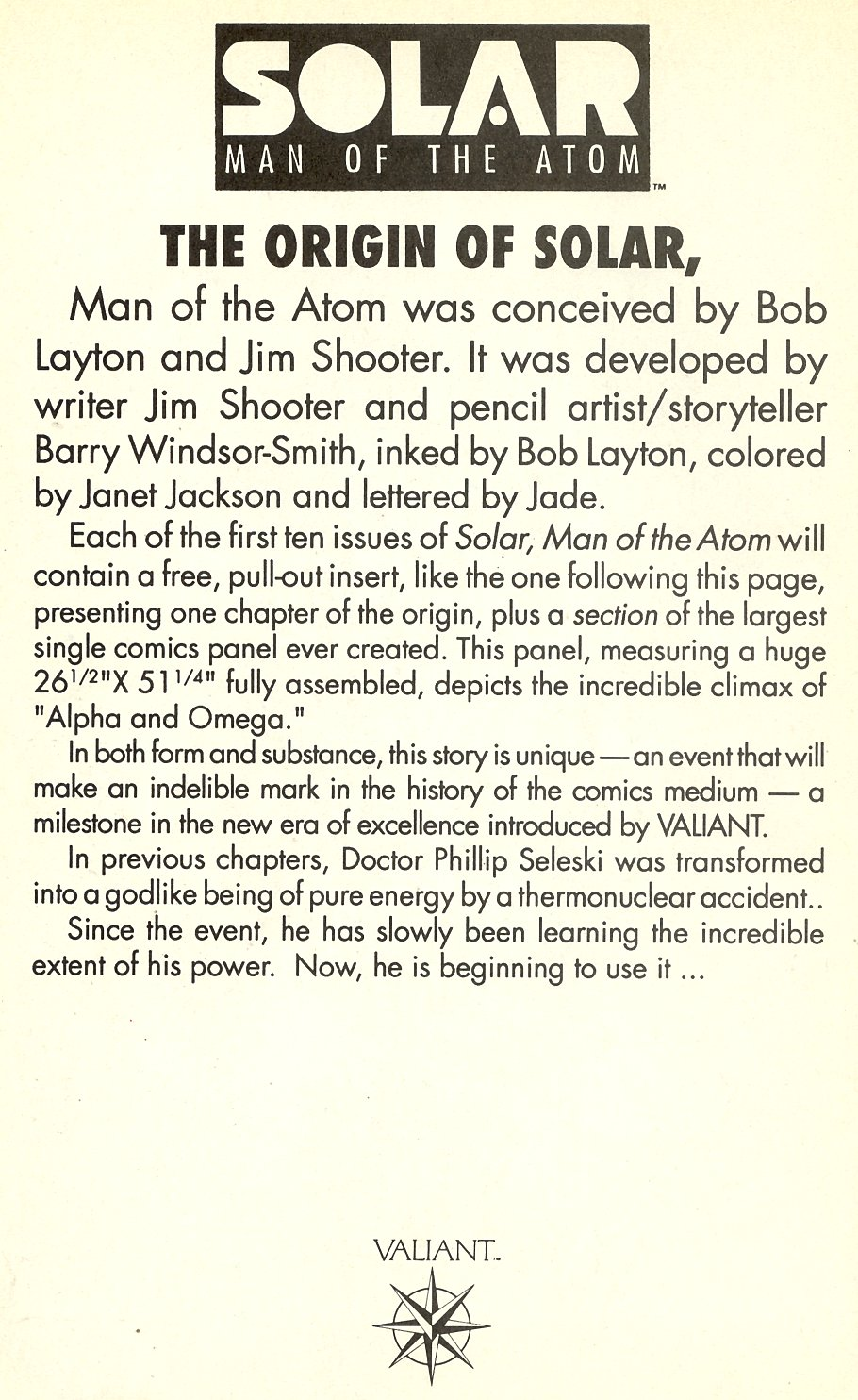 Read online Solar, Man of the Atom comic -  Issue #7 - 18