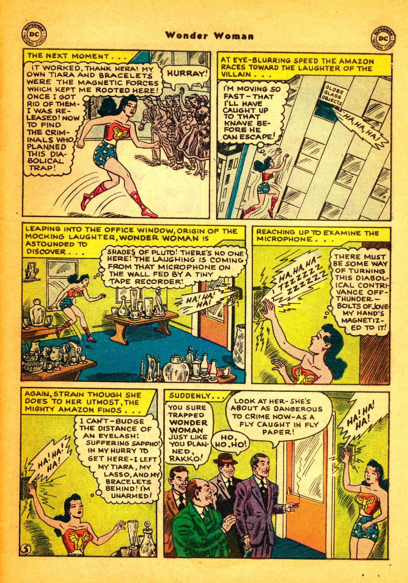 Read online Wonder Woman (1942) comic -  Issue #86 - 30