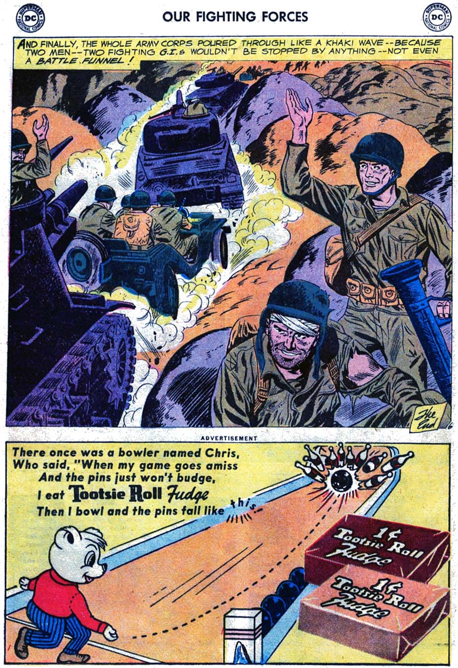Our Fighting Forces (1954) issue 46 - Page 32