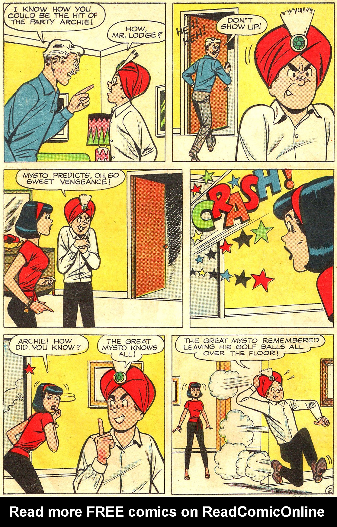 Read online Archie (1960) comic -  Issue #160 - 30