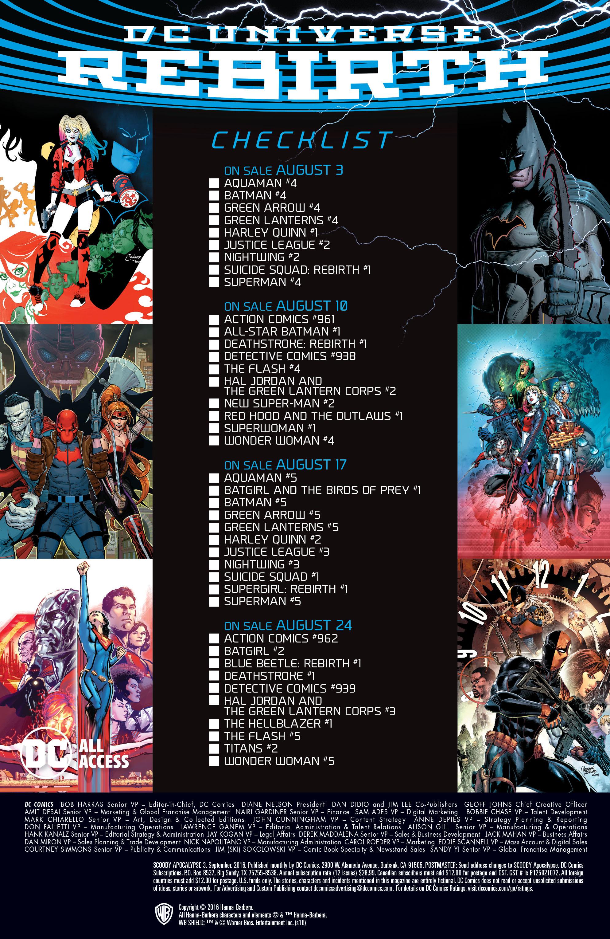 Read online Scooby Apocalypse comic -  Issue #3 - 27