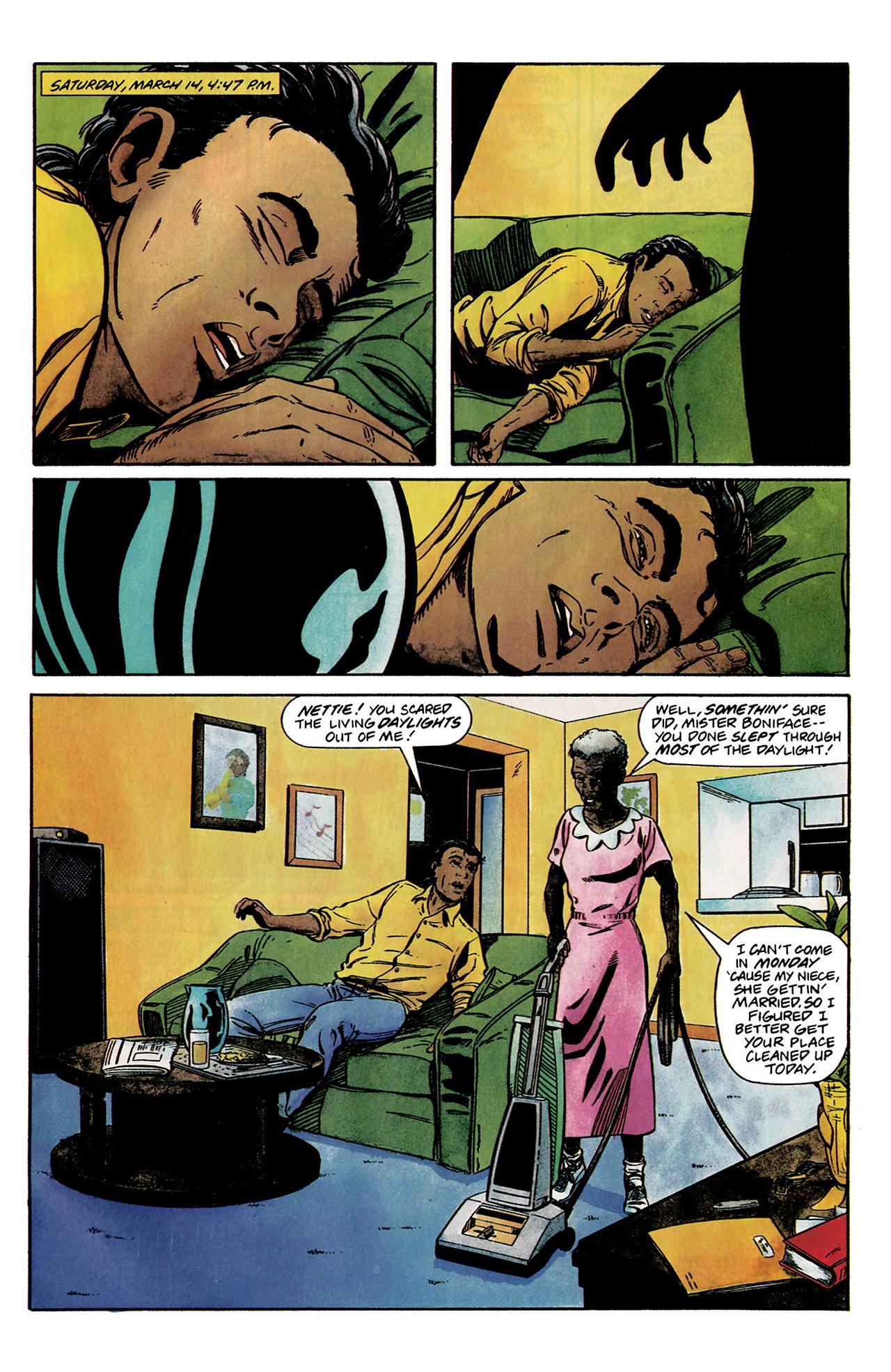 Read online Shadowman (1992) comic -  Issue #2 - 9