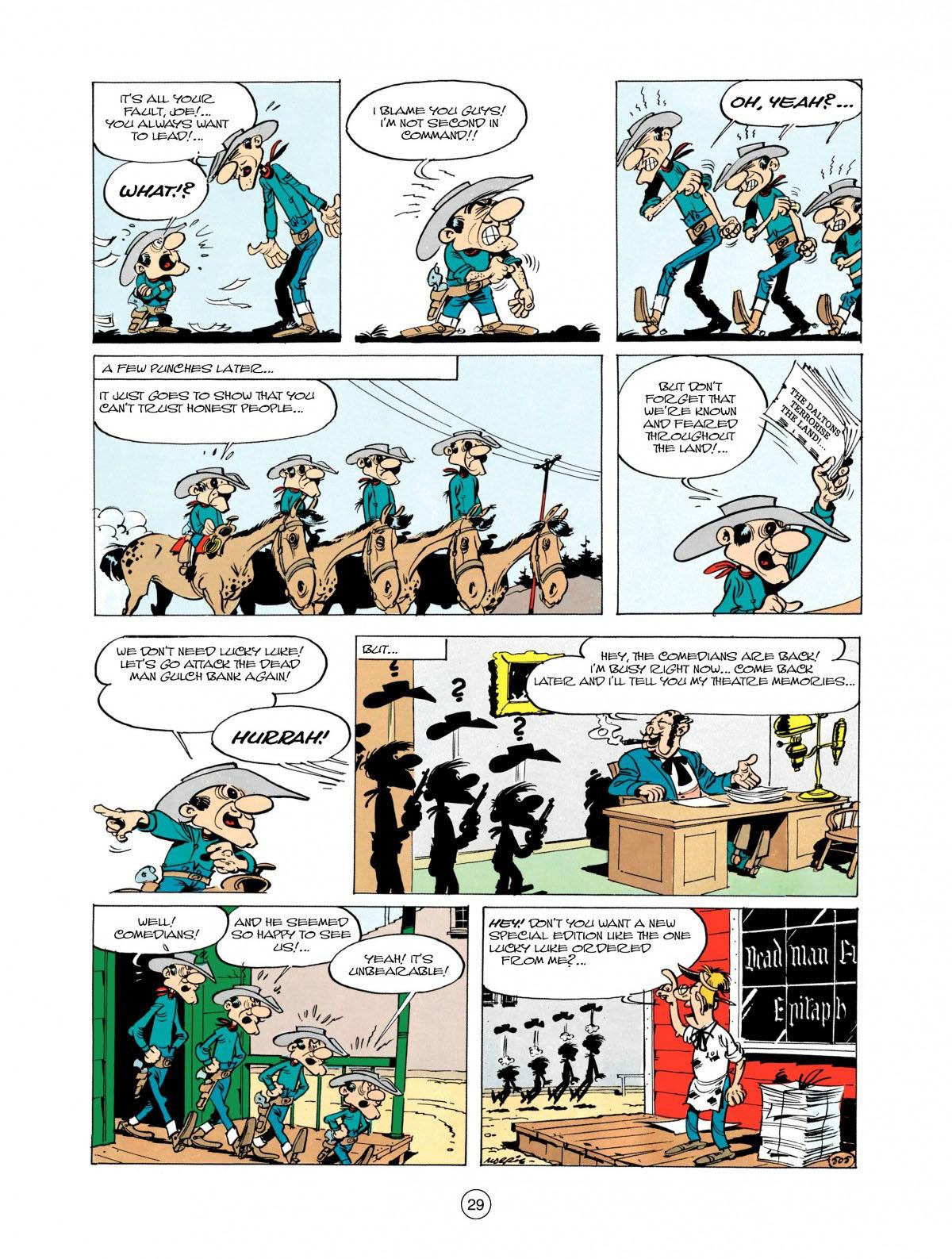 Read online A Lucky Luke Adventure comic -  Issue #28 - 30