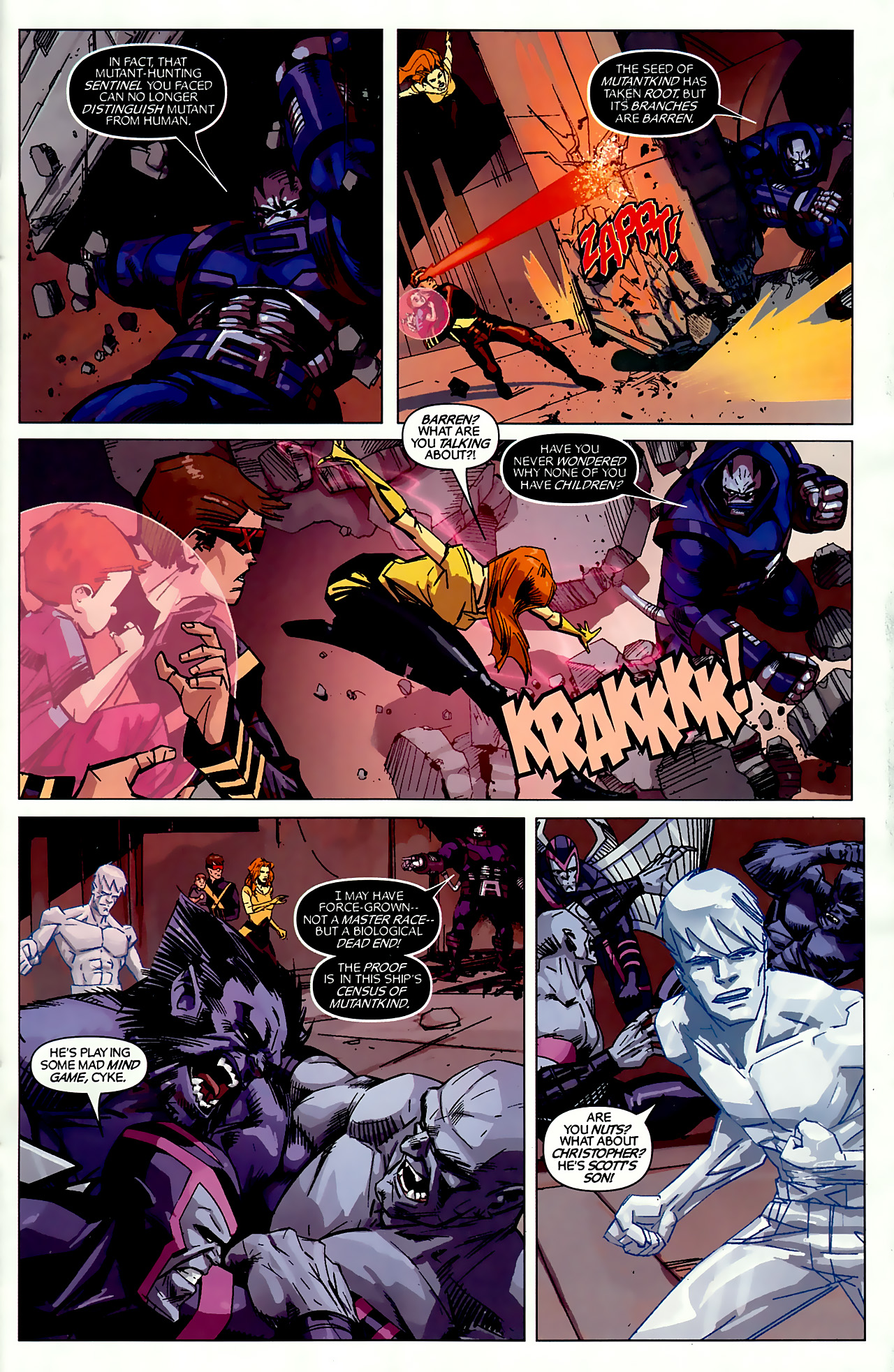 Read online X-Factor Forever comic -  Issue #3 - 15